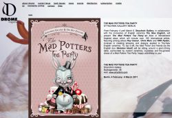 STRYCHNIN Gallery - The Mad Potters Tea Party.