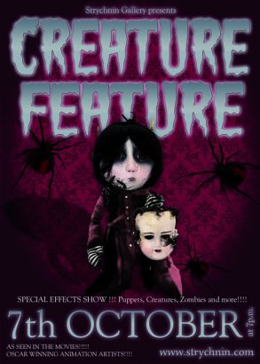 Flyer - Creature Feature - front Kopie